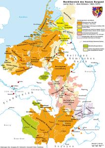 Bourgogne- Bourgondië (1477)