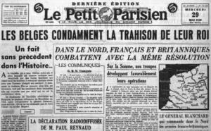 Propagande anti-dynastique et anti-belge de la France - anti-dynastieke en antibelgische Franse propaganda