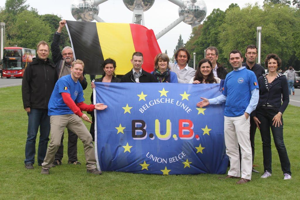 Le conseil du parti du B.U.B. au Heysel à Bruxelles le 1er juin 2013 - De partijraad van de B.U.B. op de Heizel in Brussel op 1 juni 2013