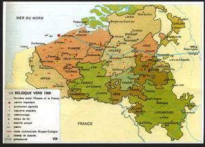 België in 1300 - La Belgique en 1300