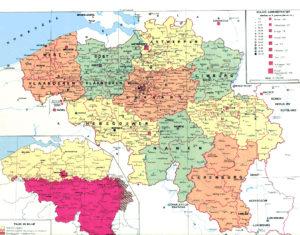 Het unitaire België - La Belgique unitaire