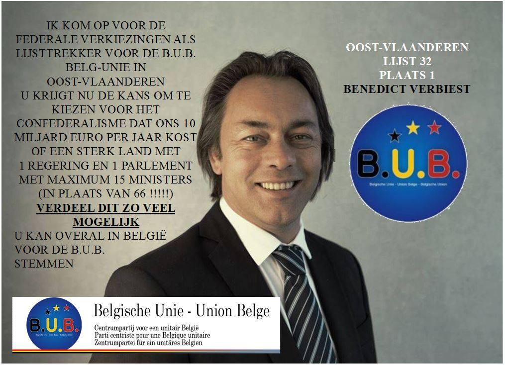 Ondervoorzitter Benedict Verbiest - Vice-président Benedict Verbiest