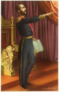 De troonsbestijging van Koning Leopold II - L