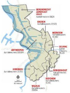 Les districts anversois - de Antwerpse districten (www.standaard.be)