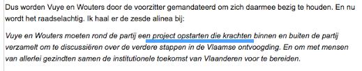 Doorbraak reprend la faute de De Wever - Doorbraak herneemt de fout van De Wever (source-bron: www.doorbraak.be)