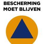 Actie tegen de sluiting van de civiele bescherming te Liedekerke - Action contre la fermeture de la protection civile à Liedekerke (bron-source: https://editiepajot.com/regios/15/articles/53417)