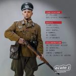 Francken afgebeeld als Duitse soldaat tijdens WO II - Francken déguisé comme soldat allemand de la deuxième guerre mondiale (Ecolo J)