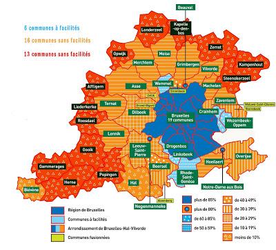 De Brusselse rand - la périphérie bruxelloise; bron-source: http://caroline-persoons.blogspot.be