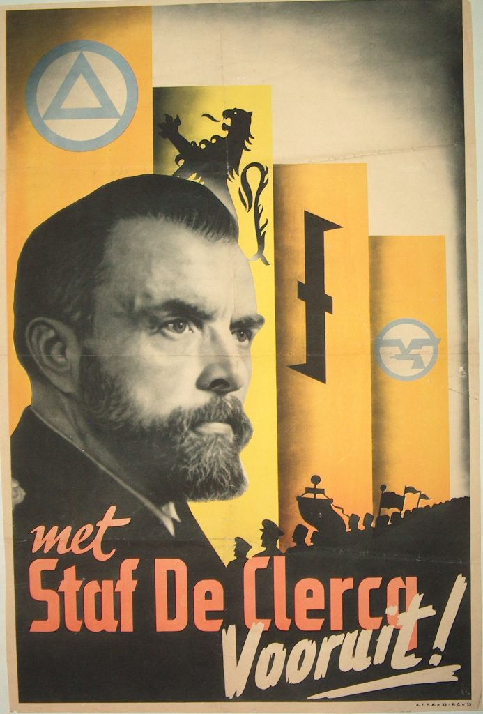Staf de Clercq, le leader du VNV (1933-1942), bron-source:http://www.military.be/