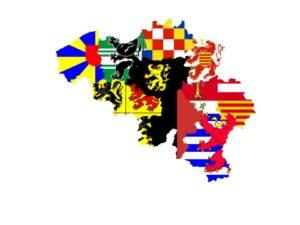 Onze negen historische provinces - nos neuf provinces historiques