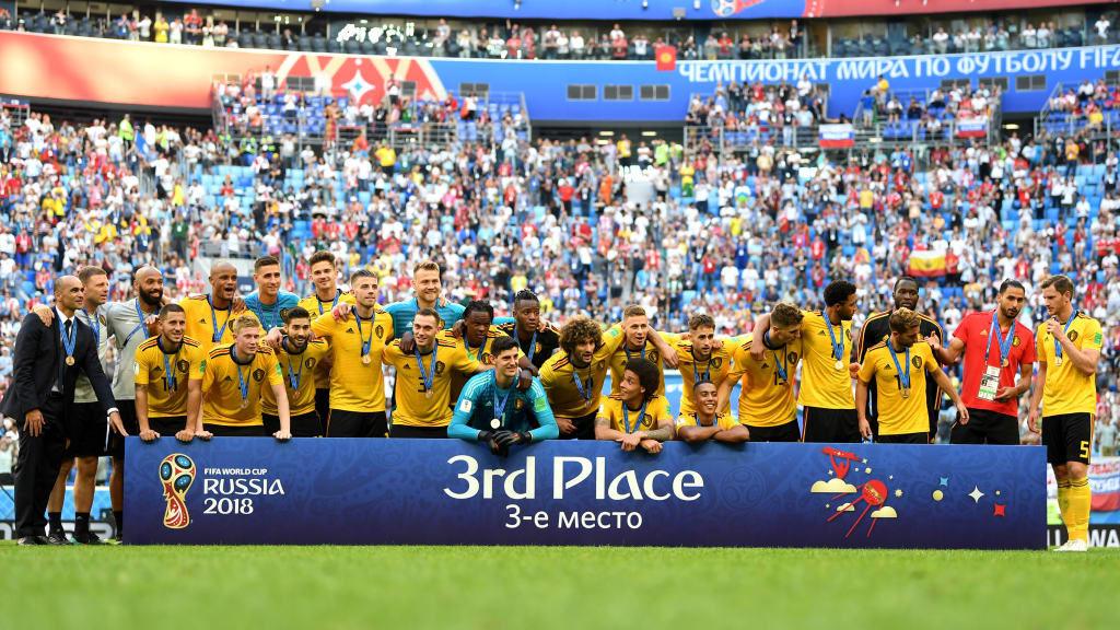 De derde plaats voor de Rode Duivels op 14 juli 2018 - La troisième place pour les Diables Rouges le 14 juillet 2018 - Photo - foto FIFA.com