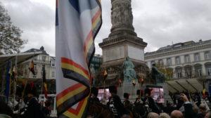 Une délégation du B.U.B. était présente à la commémoration de l'armistice du 11 novembre 2018 à Bruxelles. Een delegatie van de B.U.B. was bij de herdenking van de wapenstilstand in Brussel op 11 november 2018 aanwezig.