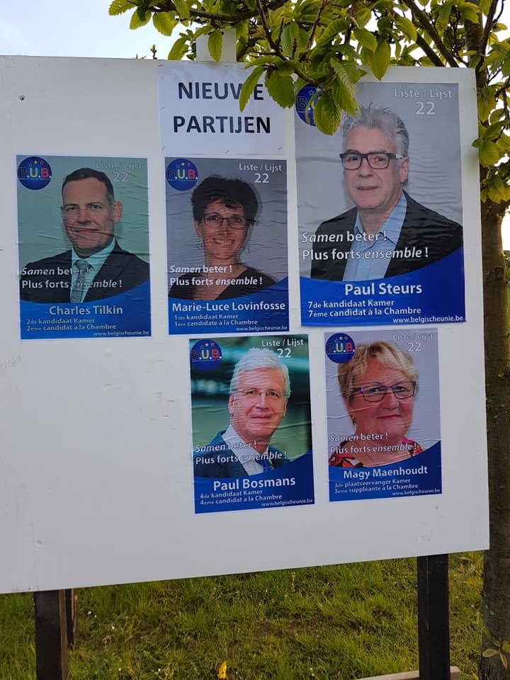 B.U.B. in mei 2019 in Brabant - en mai 2019 dans le Brabant