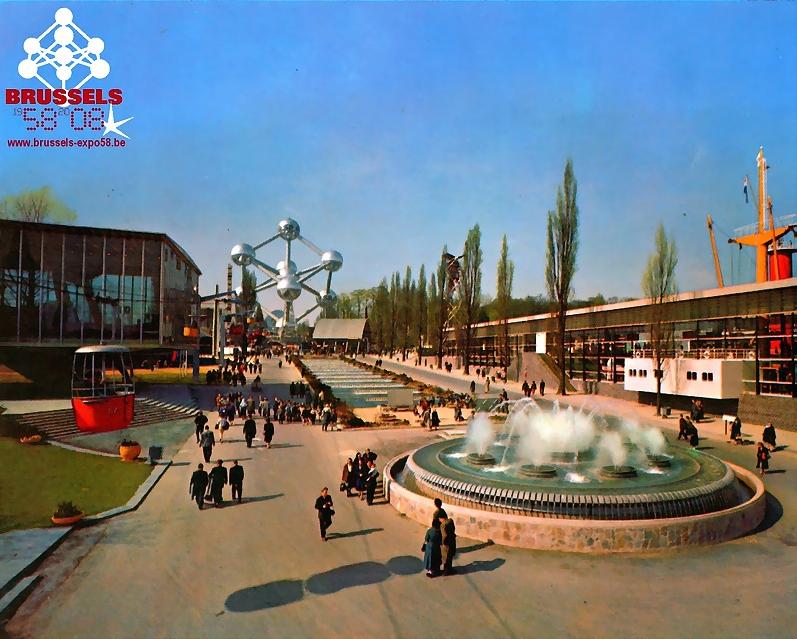 Expo 58: het hoogtepunt van het unitaire België - le point culminant de la Belgique unitaire bron-source: www.brussels-expo58.be