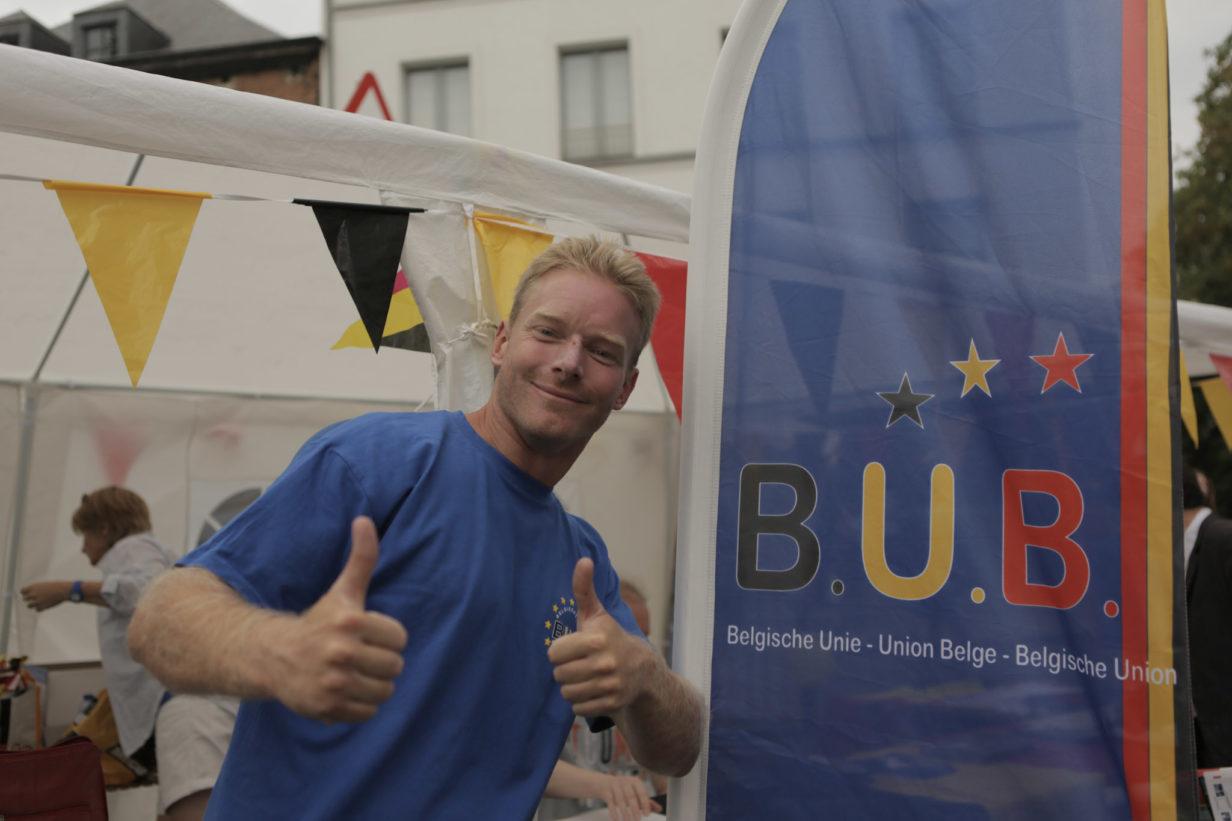 Jérémy Charlier, vice-président du B.U.B. - ondervoorzitter van de B.U.B. (photo-foto: B.U.B.)